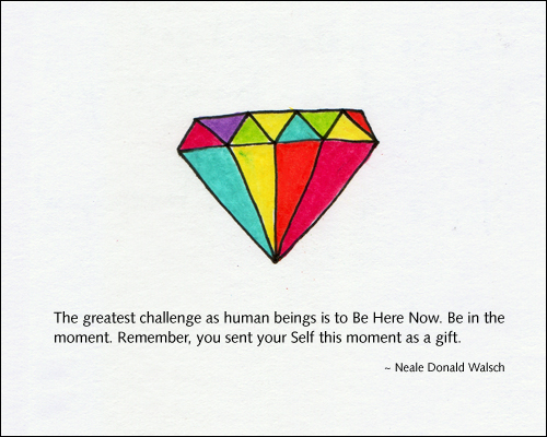 Diamond illustration by Kelly Cree