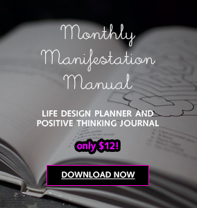 Monthly Manifestation Manual $12